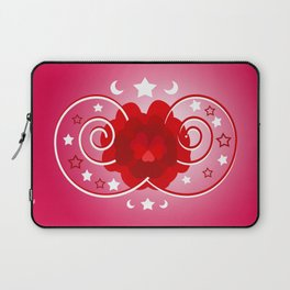 Flower of hearts Laptop Sleeve