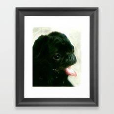 T-BONE Framed Art Print