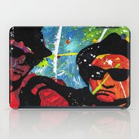 blues brothers iPad Cases featuring Blues by veermania