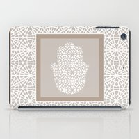 islam iPad Cases featuring Hamsa in morrocan pattern by Heaven7