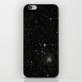 Space - Stars - Starry Night - Black - Universe - Deep Space iPhone Skin