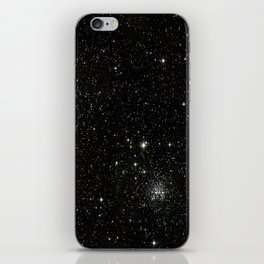 Space - Stars - Starry Night - Black - Universe - Deep Space iPhone Skin