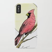 cardinal iPhone & iPod Cases featuring Cardinal by Eric Weiand