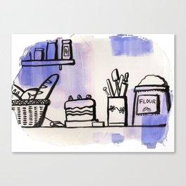 Food ingredients Canvas Print