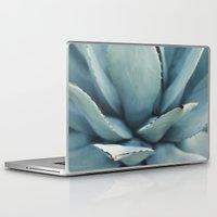succulents Laptop & iPad Skins featuring succulents by Die Schönheit des Augenblicks