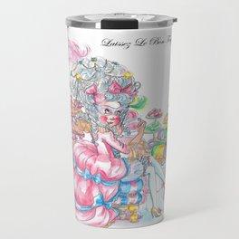 Marie Antoinette: Eat King Cake Travel Mug