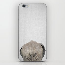 Elephant Tail - Colorful iPhone Skin