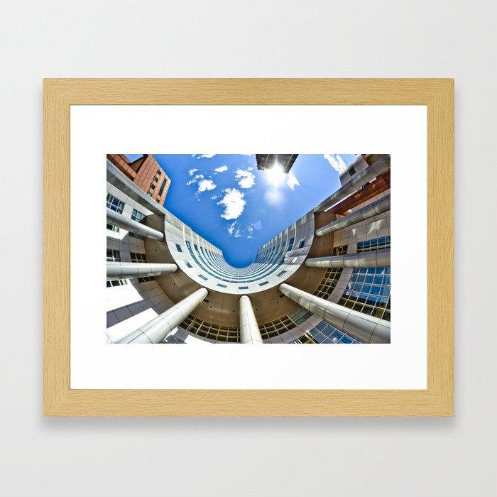 Bowl In The Sky Framed Art Print