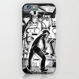 Running Through the Night iPhone Case