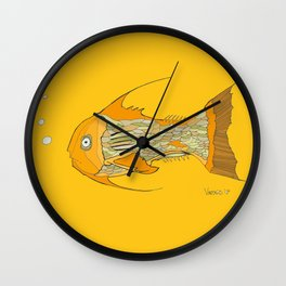 Francis the Fish Wall Clock