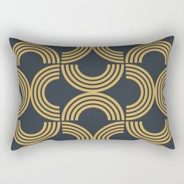 Deco Geometric 01 Rectangular Pillow