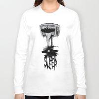 sleep Long Sleeve T-shirts featuring Sleep by vsMJ