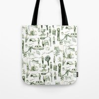 wallpaper Tote Bags featuring Wallpaper by Bridie Cheeseman