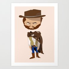 Blondie The Good The Bad and The Ugly Art Print