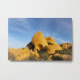 Skull Rock - Joshua Tree National Park Metal Print