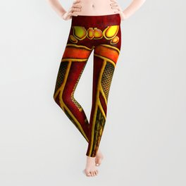 Fire Mage Warlock Armor Costume Leggings
