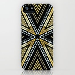 Glam Cross Star iPhone Case