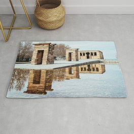 Temple of Debod in Madrid Rug
