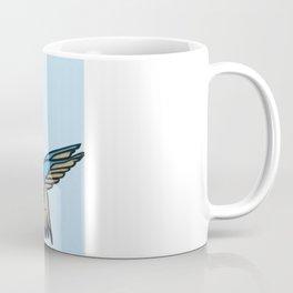 Hummingbird Garden Paper-cut  Coffee Mug