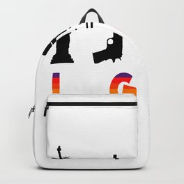 Liberty Gun Beer LGBT America Funny - Gay Pride Backpack