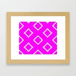 Jairus Pink Framed Art Print