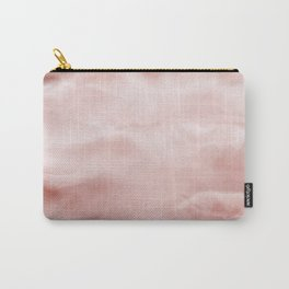 Rose brown Marble texture Carry-All Pouch
