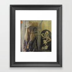 Country Gold Framed Art Print