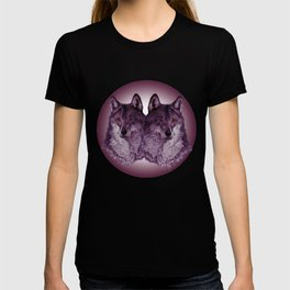 Season of the Wolf - Duet in Magenta T-shirt