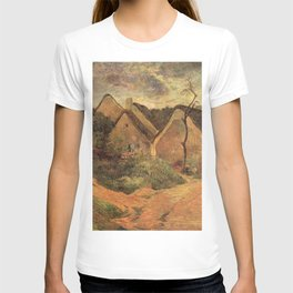 Paul Gauguin - Osny, Stormy Weather (1883) T-shirt