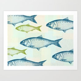 Vintage Fish Art Print