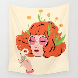 Dandelions Wall Tapestry