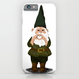 Hangin with my Gnomies - I Heart You iPhone Case