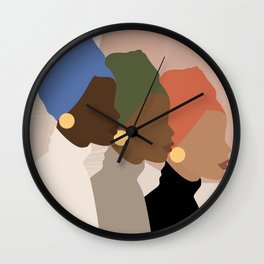 Homebound Wall Clock
