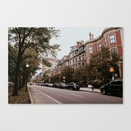 Boston Streets // Canvas Print