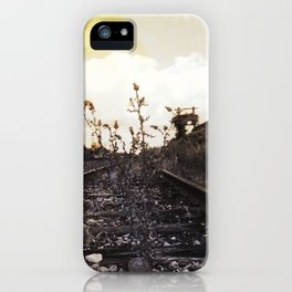 Rebirth Between the Rails iPhone Case