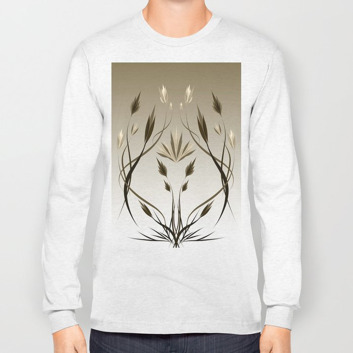 floral emblem 1 Long Sleeve T-shirt