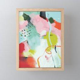 landscape in spring Framed Mini Art Print