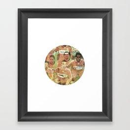 La Liga Framed Art Print