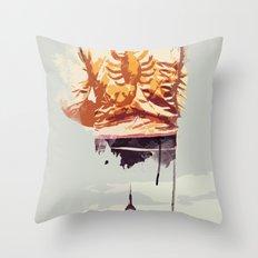 THROUGH THE NIGHT Throw Pillow