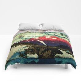 Winter in Keiisino Comforters