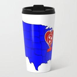 State of Tennessee Travel Mug