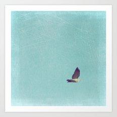 Crossing Pale Blue Skies Art Print