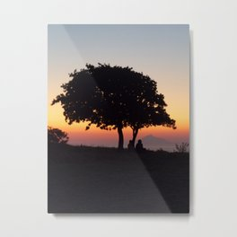 An African Sunset Metal Print