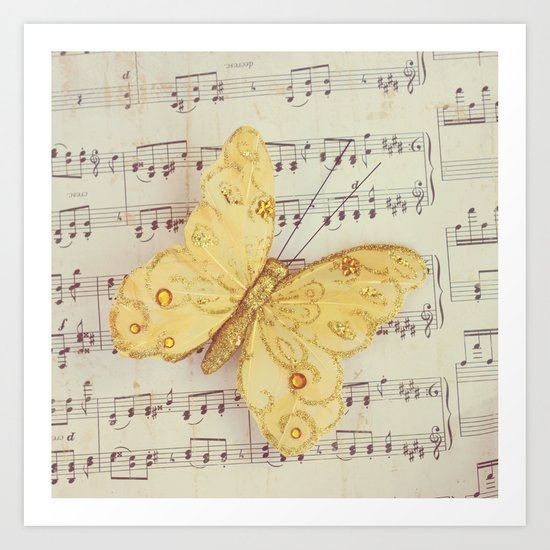 Dance of the Butterfly Art Print