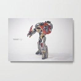 Grimlock Metal Print