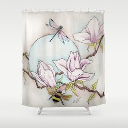 Keepers of the Magnolias Shower Curtain