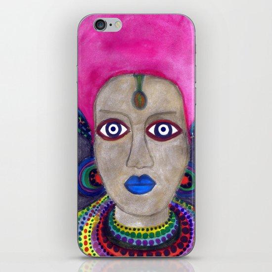 queen etnic pop iPhone Skin