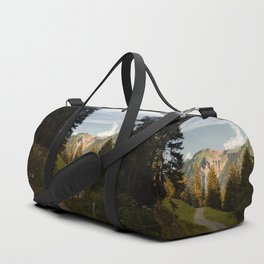 through the woods and over the mountains Duffle Bag