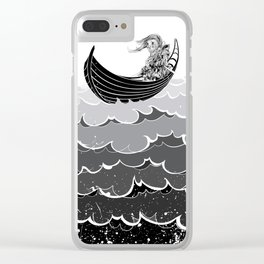 Death At Sea Clear iPhone Case