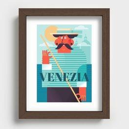 Venezia Recessed Framed Print